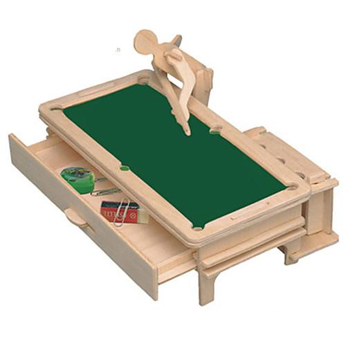 3D пазлы Деревянные игрушки Наборы для моделирования Мебель Своими руками Дерево Классика Универсальные Подарок мебель своими руками шкафы кладовки полки
