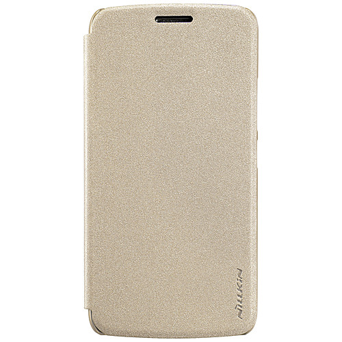 Кейс для Назначение Motorola Флип / Матовое Чехол Однотонный Твердый Кожа PU для Мото G5 Plus / Moto G5