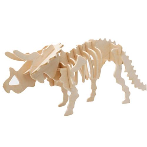 Muwanzi 3D пазлы Пазлы Деревянные игрушки Динозавр Летательный аппарат Знаменитое здание Архитектура 3D Своими руками Дерево Классика