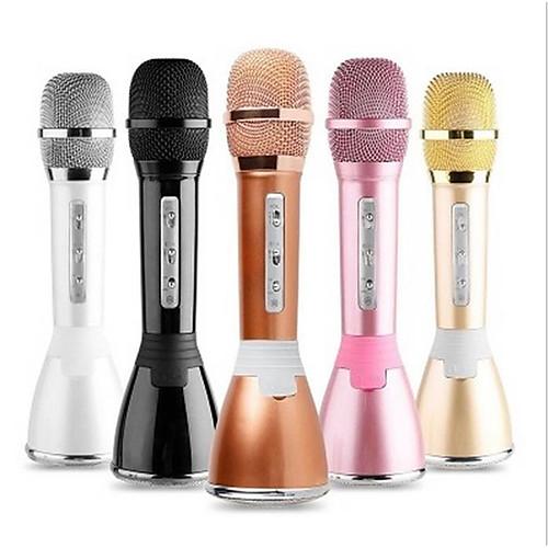 Bluetooth Микрофон Other Конденсаторный микрофон Ручной микрофон Назначение Микрофон для караоке фото