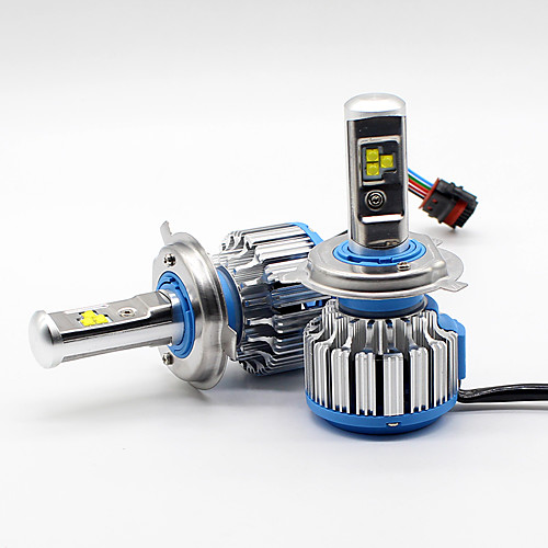 SO.K H4 Car Light Bulbs 35 W High Performance LED 7000 lm Headlamp