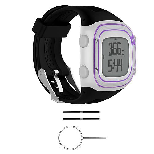 Купить со скидкой Ремешок для часов для Forerunner 10 Garmin Спортивный ремешок Pезина Повязка на запястье