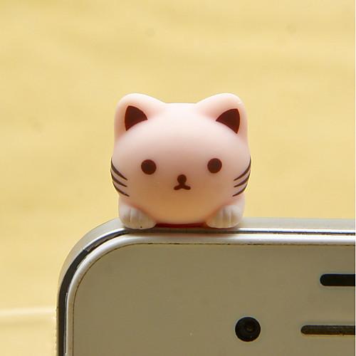 анти-пылезащитный колпачок DIY кошка смола ремесла мультфильм игрушка смолы сотовый телефон прелести