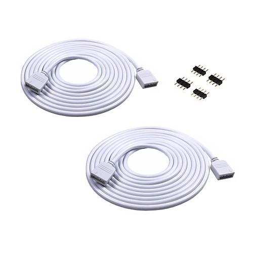 2pcs Осветительная арматура Электрический кабель В помещении