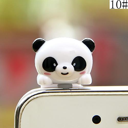 anti-dust plug diy bear cartoon toy abs 3.5mm diy для iphone 8 7 samsung galaxy s8 s7