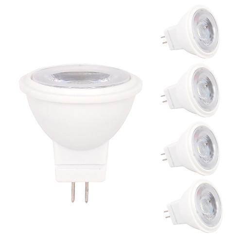 5 шт. 2W 180-210lm MR11 Точечное LED освещение MR11 3 Светодиодные бусины SMD 2835 Декоративная Тёплый белый Холодный белый 12V цена