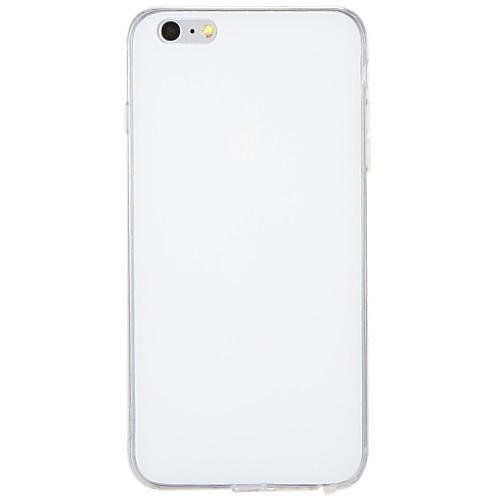 Кейс для Назначение Apple iPhone 7 Plus iPhone 7 Защита от пыли Кейс на заднюю панель Сплошной цвет Мягкий ТПУ для iPhone 7 Plus iPhone 7