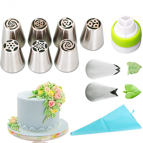 1 set Stainless Steel A Grade ABS Eco-friendly Everyday Use Cake Molds Bakeware tools