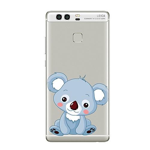 Кейс для Назначение Huawei P9 Huawei P9 Lite Huawei P8 Huawei Huawei P9 Plus Huawei P8 Lite Huawei Mate 8 Прозрачный С узором Кейс на laker pro d9 7 8 x p9 yamaha 20 30 л с 45618