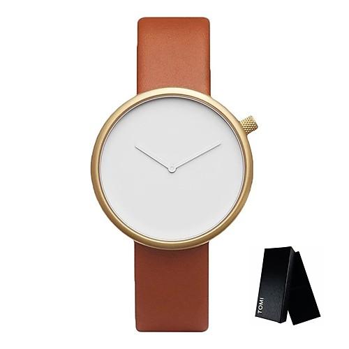 Муж. Кварцевый Наручные часы Армейские часы Спортивные часы Китайский Повседневные часы Кожа Группа Кулоны Творчество На каждый день