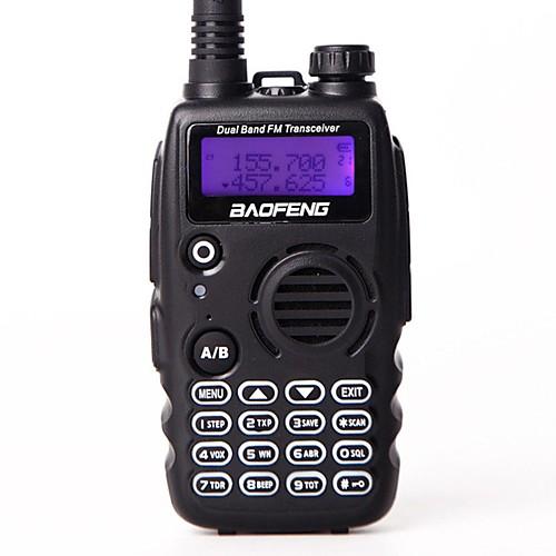 BAOFENG Радиотелефон Для ношения в руке Yведомление O Hизком заряде батареи С программным управлением через ПК Голосовые подсказки VOX