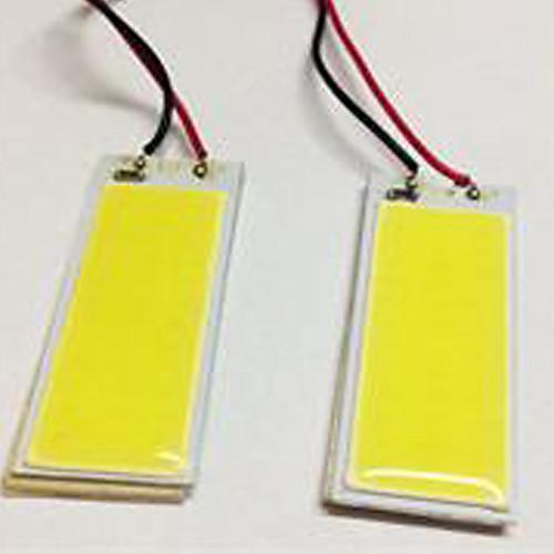 2pcs BA9S / T10 Автомобиль Лампы 5W COB 490lm Светодиодные лампы Внутреннее освещение лампы освещение