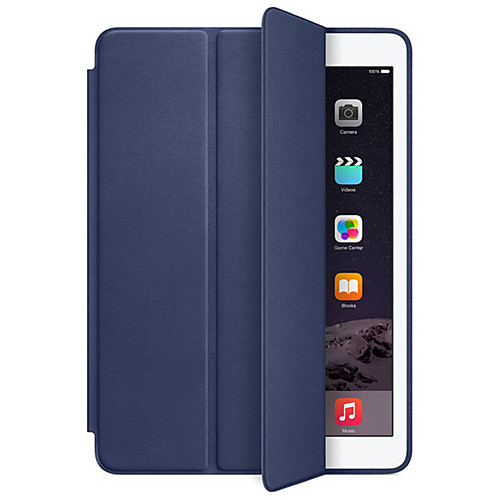 все цены на Кейс для Назначение Apple iPad Air iPad Mini 4 iPad Mini 3/2/1 iPad 4/3/2 iPad Air 2 Защита от удара Авто Режим сна / Пробуждение Чехол онлайн