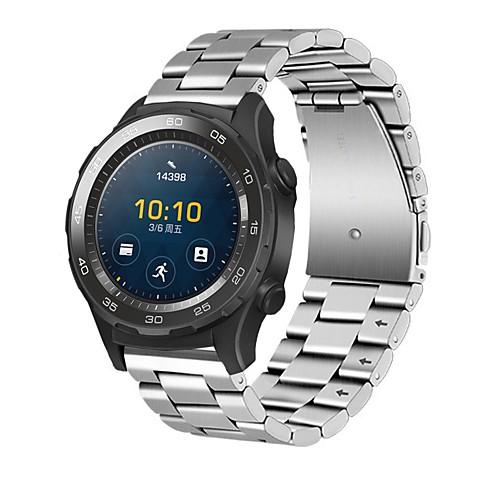 Купить со скидкой Ремешок для часов для Huawei Watch 2 Huawei Современная застежка Нержавеющая сталь Повязка на запяст