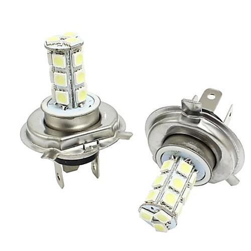 2pcs H4 Автомобиль Лампы 3W SMD 5050 300lm Налобные фонари Налобный фонарь фонари следопыт фонарь налобный 1l