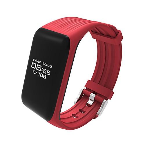 Умный браслет K1 for iOS / Android Пульсомер / Израсходовано калорий / Длительное время ожидания / Сенсорный экран / Защита от влаги / Педометр / Напоминание о звонке / Датчик для отслеживания сна умный браслет gps сенсорный экран пульсомер защита от влаги израсходовано калорий педометры регистрация деятельности регистрация