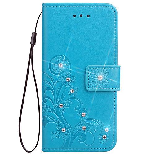 Кейс для Назначение Sony Z5 Sony Z4 Sony Xperia Z3 Sony Xperia Z2 Sony Бумажник для карт Кошелек Стразы со стендом Флип Рельефный Чехол чехол флип pulsar shellcase для sony xperia z4 z3 черный