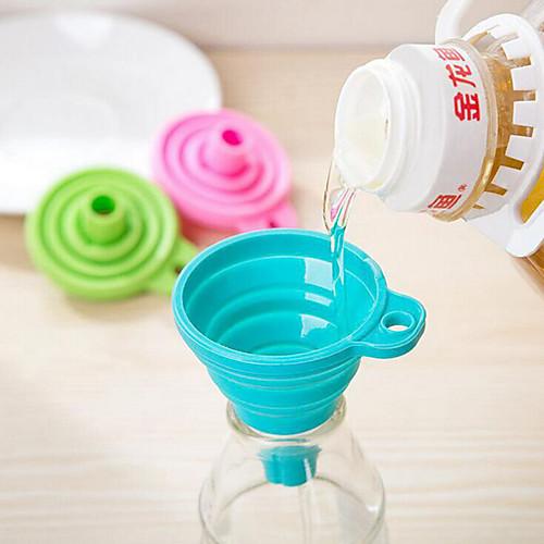 конфеты цвет дома длинная шея воронка творческие кухонные гаджеты использовать повседневные 1 шт.