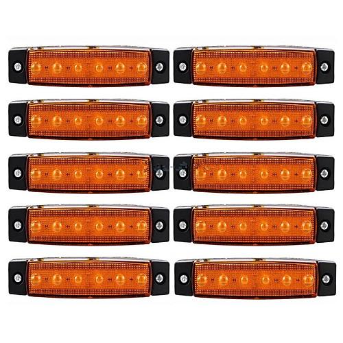 ZIQIAO 10 шт. Автомобиль Лампы Внешние осветительные приборы For Универсальный цена