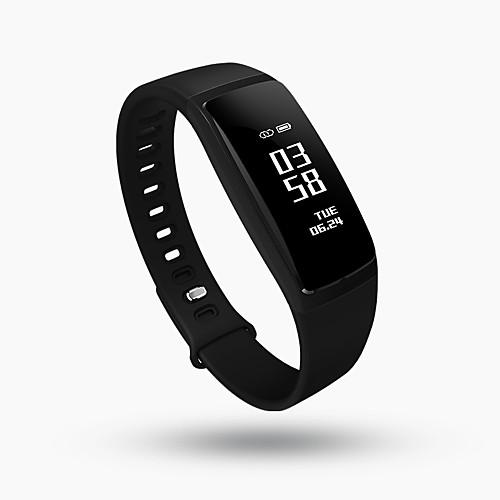 Смарт Часы Сенсорный экран Пульсомер Защита от влаги Израсходовано калорий Педометры Фотоаппарат будильник Измерение кровяного давления