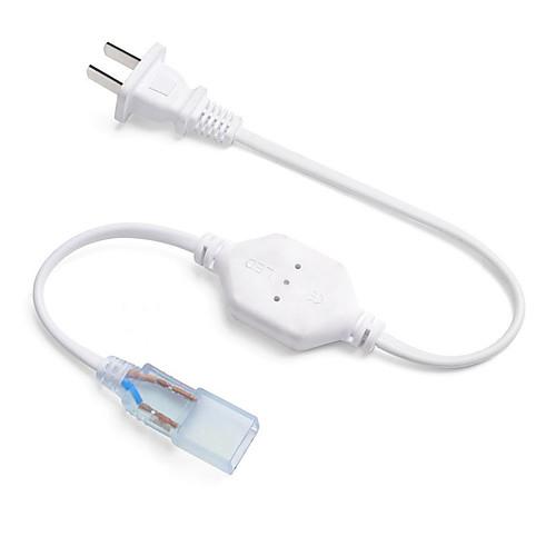 1шт Водонепроницаемый Газонокосилка Электрический кабель В помещении для светодиодной полосы света