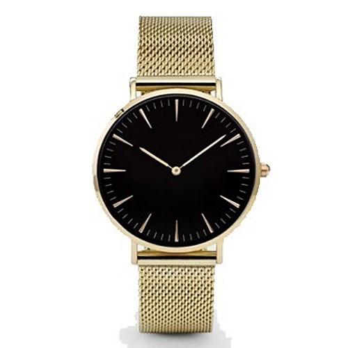 Муж. Кварцевый Наручные часы Китайский Повседневные часы Группа Кулоны / На каждый день / минималист / Мода Черный / Серебристый металл /