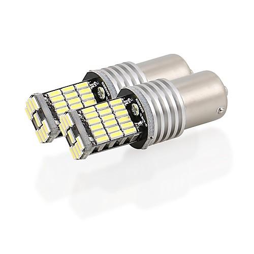 2pcs 1156 Автомобиль Лампы 9W SMD 4014 900lm 45 Фары дневного света For Audi A3 / A4 / A6 Все года