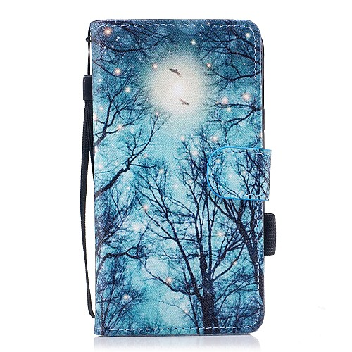 Case For Samsung Galaxy J7 (2017) / J5(2016) / J3 (2017) Wallet / Card Holder / with Stand Full Body Cases Tree Hard PU Leather for J5 (2017) / J5 (2016) / J3 (2017)