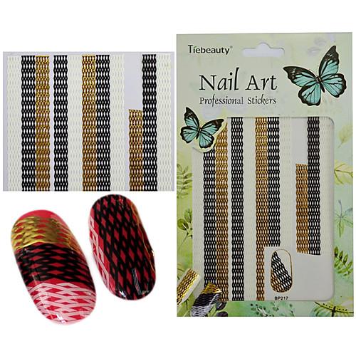 1 pcs 3D-стикеры для ногтей / 3-D / Компоненты для самостоятельного изготовления Мода 3D Повседневные