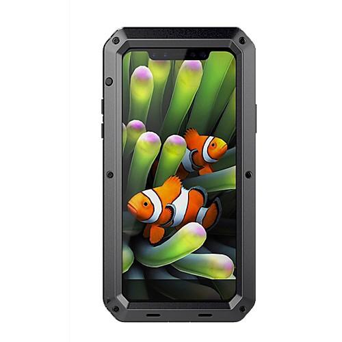 Чехол для яблока iphone xr xs xs макс вода / грязь / ударопрочный чехол для всего тела броня из твердого металла для iphone x 8 8 plus 7 7plus 6s 6s plus se 5 5s фото
