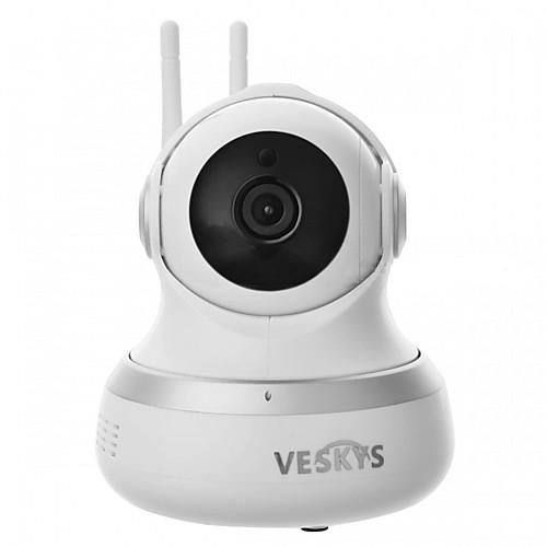 veskys 1080p hd 2.0mp wifi охранное видеонаблюдение ip камера / облачное хранилище / двухстороннее аудио / дистанционное управление / ночное видение видеонаблюдение