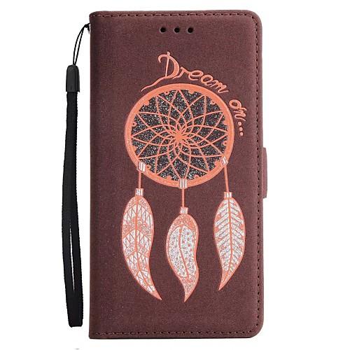 Купить со скидкой Кейс для Назначение SSamsung Galaxy Note 8 / Note 5 Кошелек / Бумажник для карт / со стендом Чехол Л