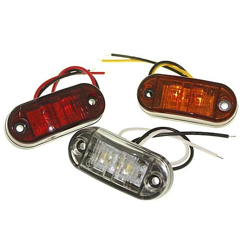 SENCART 1 шт. Грузовик / Мотоцикл / Автомобиль Лампы 1W Dip LED 90lm 2 Внешние осветительные приборы For Универсальный Все года цена