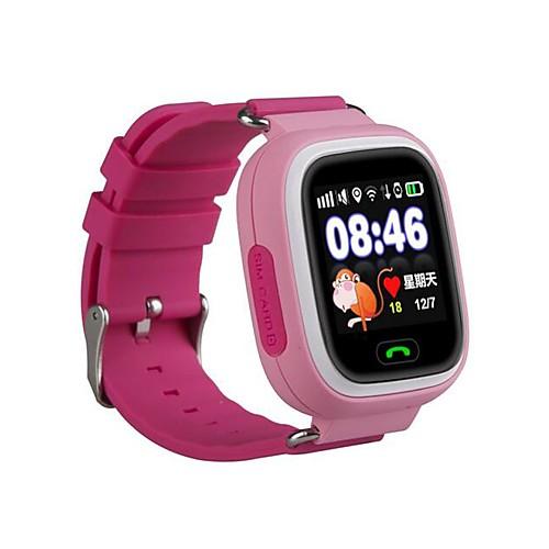 Смарт Часы GPS Сенсорный экран Израсходовано калорий Педометры Контроль APP SOS Электронный забор Анти-потерянный Многофункциональный