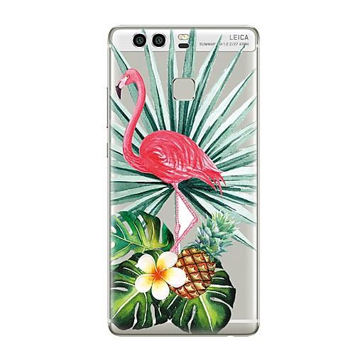 где купить Кейс для Назначение Huawei P9 Huawei P9 Lite Huawei P8 Huawei Huawei P9 Plus Huawei P8 Lite Huawei Mate 8 P9 P10 Прозрачный С узором Кейс по лучшей цене