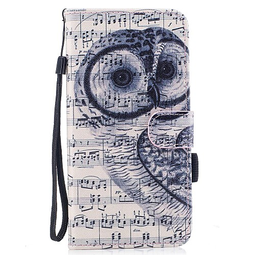 Case For Apple iPhone 7 / iPhone 7 Plus Wallet / Card Holder / with Stand Full Body Cases Owl Hard PU Leather for iPhone 7 Plus / iPhone 7 / iPhone 6s Plus