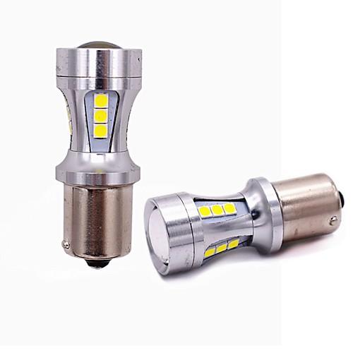 2pcs T20 / 1157 / 1156 Автомобиль Лампы 18W SMD 5050 1800lm 18 Задний свет For Универсальный Все года цена
