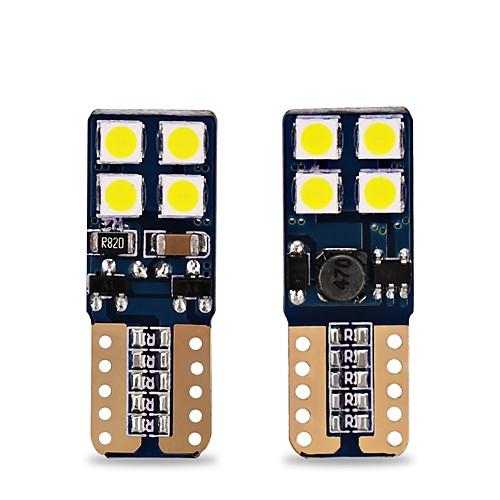 T10 Автомобиль Лампы 4W SMD 3030 400lm 8 Внешние осветительные приборы For Универсальный Все модели Все года цена