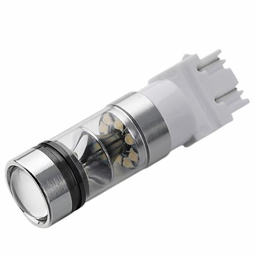 2pcs T20 / 3157 / 3156 Автомобиль Лампы 100W Высокомощный LED 4000lm 20 Задний свет For Универсальный Все модели Все года цена