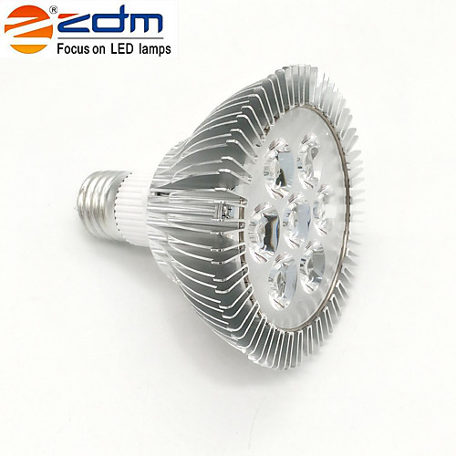 7W E26/E27 Точечное LED освещение PAR30 7 светодиоды Высокомощный LED Тёплый белый 3000lm 3000K AC 85-265V