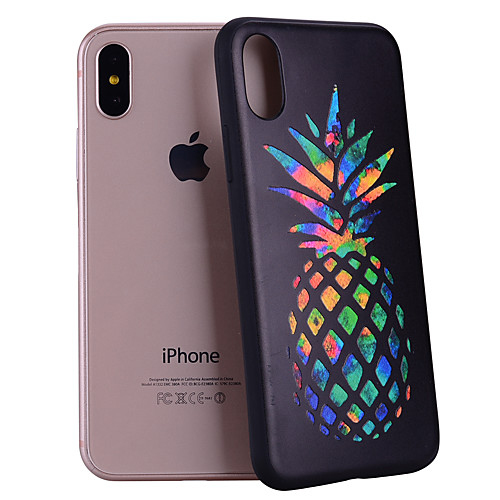Case For Apple iPhone XR XS XS Max Pattern Back Cover Fruit Soft Silicone for iPhone X 8 8 Plus 7 7plus 6s 6s Plus SE 5 5S