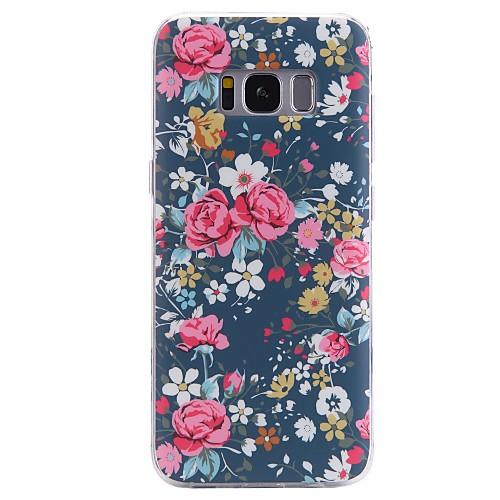 Кейс для Назначение SSamsung Galaxy С узором Кейс на заднюю панель Цветы Мягкий ТПУ для S8 Plus S8 S7 edge S7 S6 edge plus S6 edge S6 S6