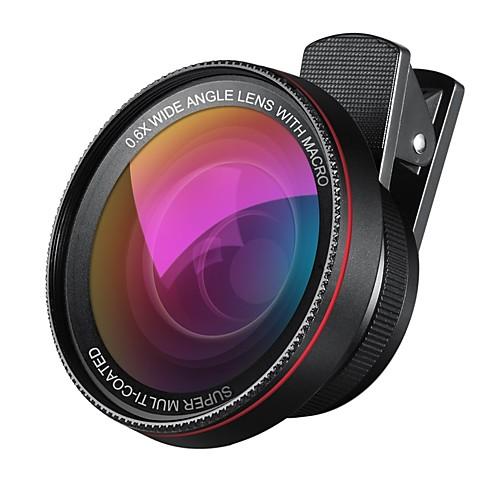 Купить со скидкой 2 в 1 профессиональном объективе с объективом hd объектива 0.6x супер широкоугольный объектив 10x ма