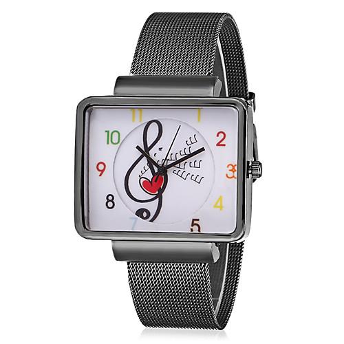 JUBAOLI Муж. Жен. Кварцевый Наручные часы Китайский Повседневные часы Металл Группа На каждый день Мода Cool Черный Серебристый металл