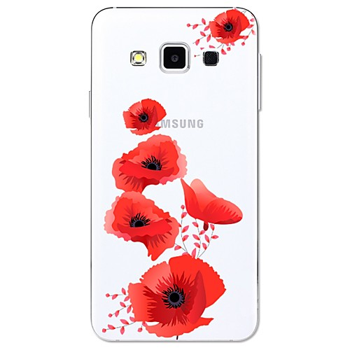 Case For Samsung Galaxy A5(2017) / A3(2017) Pattern Back Cover Flower Soft TPU for A3(2017) / A5(2017) / A7(2017)