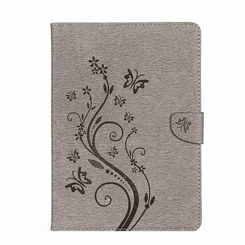 Кейс для Назначение iPad Mini 4 iPad Mini 3/2/1 iPad 4/3/2 iPad Air 2 iPad Air iPad 10.5 iPad (2017) Бумажник для карт Кошелек со стендом