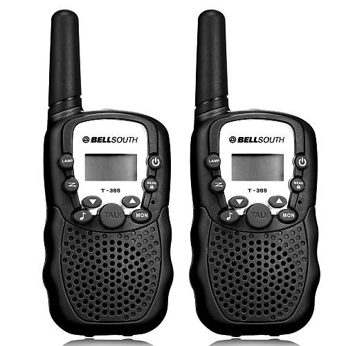 T-388 Радиотелефон Для ношения в руке Аналоговая VOX CTCSS/CDCSS 3 - 5 км 3 - 5 км 22CH 0.5W Walkie Talkie Двухстороннее радио