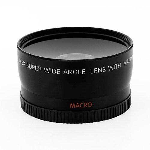 10X Macro 0.45X Wide Angle Camera Lens Lens for Camera Canon