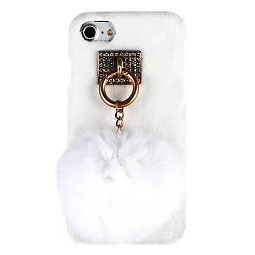 Кейс для Назначение Apple iPhone X / iPhone 8 / iPhone 8 Plus Защита от удара Кейс на заднюю панель 3D в мультяшном стиле Твердый ПК для iPhone X / iPhone 8 Pluss / iPhone 8