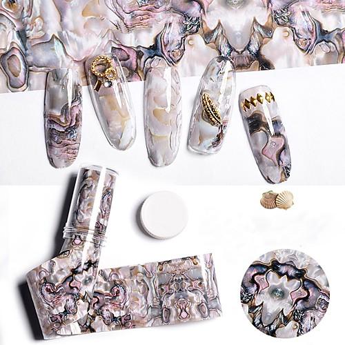 1 pcs Геометрический рисунок Наклейка для ногтей Дизайн ногтей